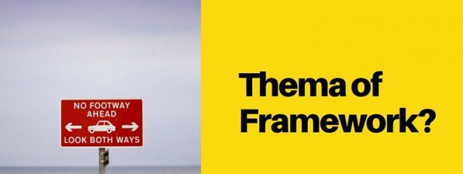 Roadsign wordpress Thema of Framework