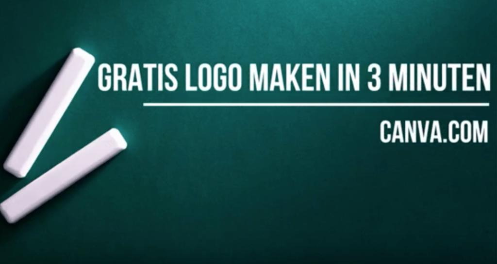 Artikel over het maken van een gratis logo in het programma Canva