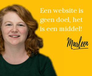 Een website is geen doel, het is een middel