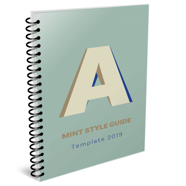 Gratis Style Guide voor je merk downloaden