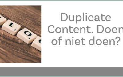 Geen paniek! Duplicate content zorgt niet voor strafpunten bij Google.