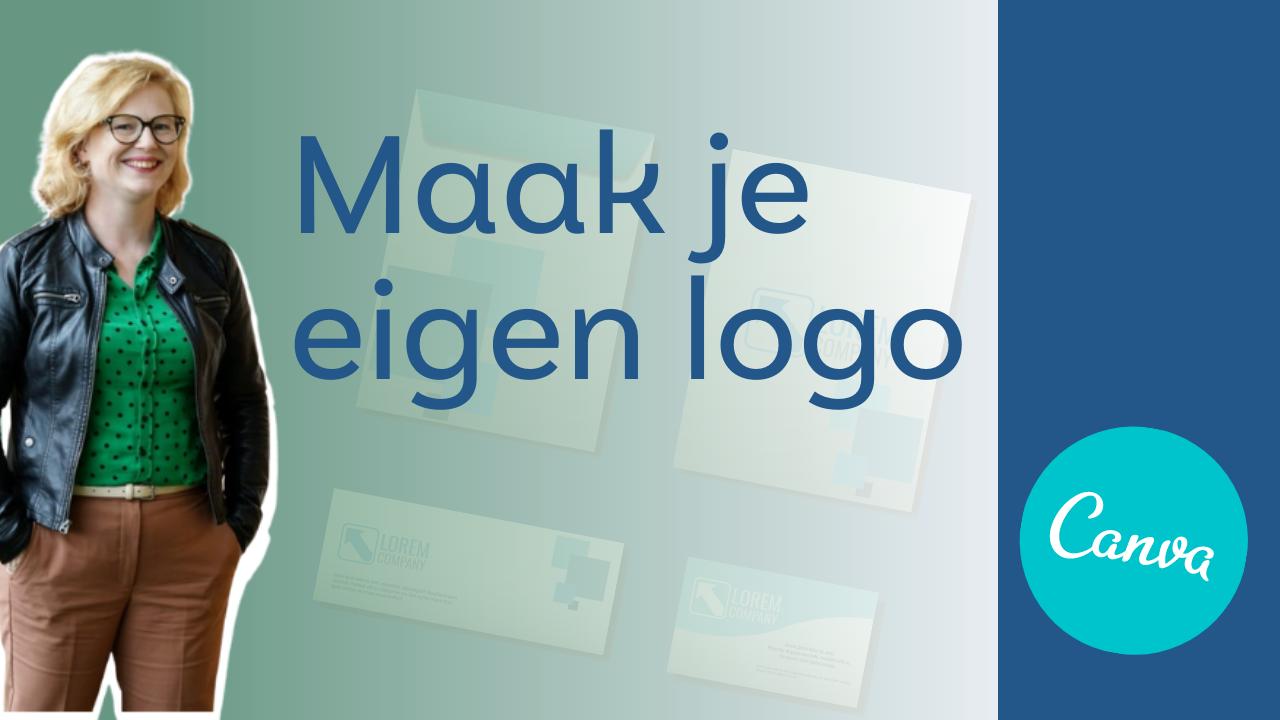 Gratis logo maken en downloaden met Canva