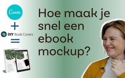 Gratis een mockup voor jouw ebook maken