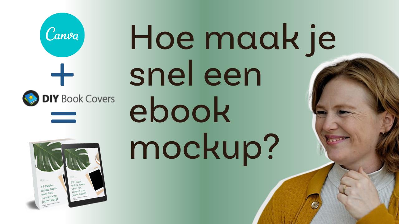 zelf gratis ebook mockup maken
